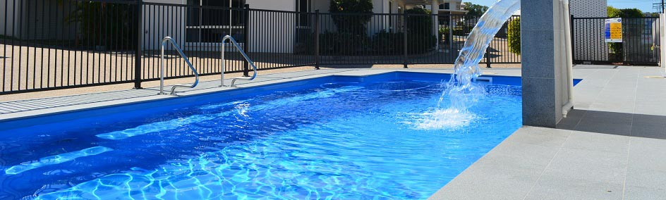 Relax with a refreshing swim in the pool at Rockhampton